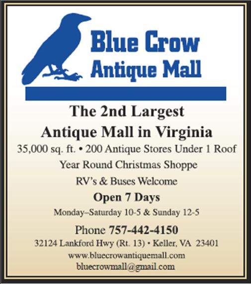 blue crow antique mall Blue Crow Antique Mall   Chincoteague Chamber of Commerce blue crow antique mall